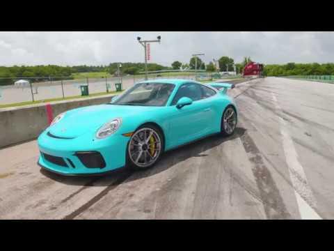 Porsche 911 GT3 at Lightning Lap 2018