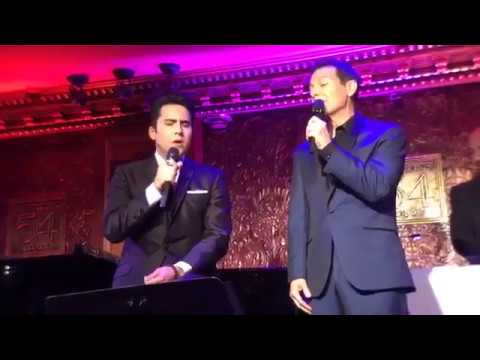 John Lloyd Young and Michael Feinstein's duo  I Don't Remember You