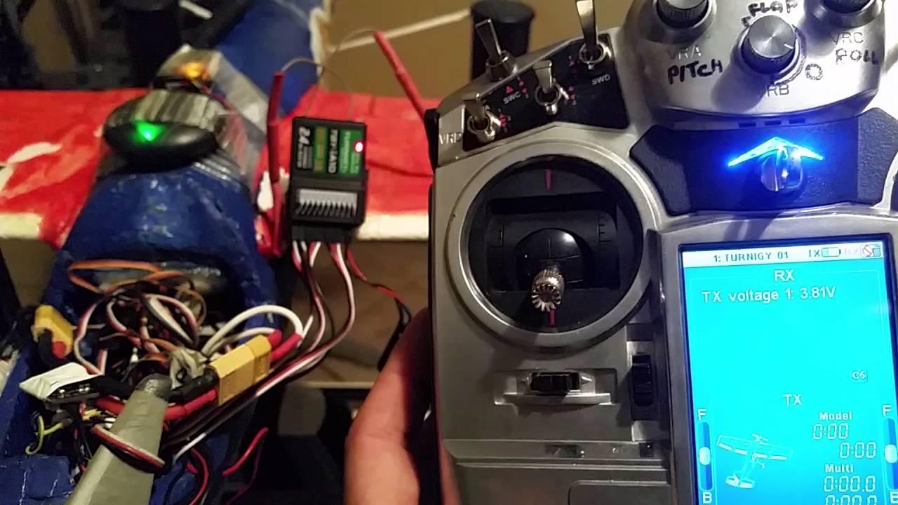 Update tgy-i10 receiver, atualização do receptor do TGY-i10