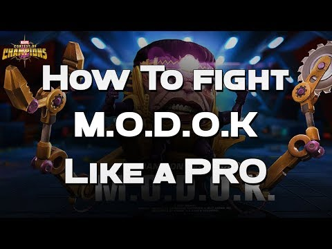 How To Fight MODOK Like a PRO - Pro Tips -  Marvel Contest Of Champions