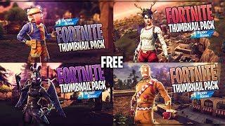 FREE Fortnite Thumbnail Template v2 [2018] | SunnyArts