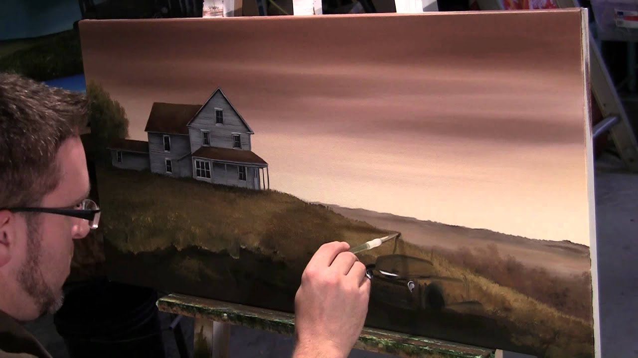 Time Lapse Painting Hillsborough Abandoned House