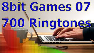 8bit Games 07 - For iOS Devices - iPhone, iPad - 700 Ringtones
