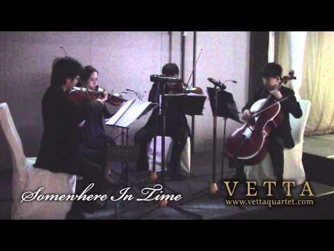 Somewhere In Time (String Quartet)