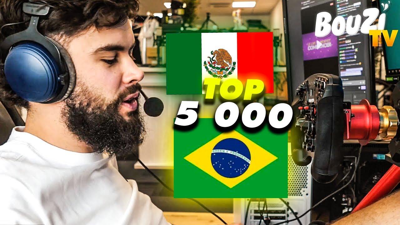 OBJECTIF TOP 5 000 : Brésil et Mexique (F1 2020)