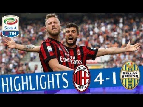Milan - Hellas Verona 4-1 - Highlights - Giornata 36 - Serie A TIM 2017/18