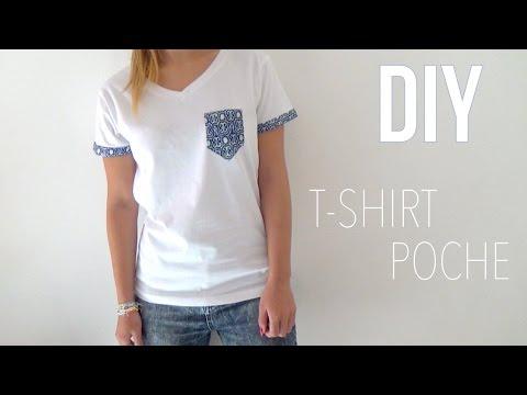 DIY | T-Shirt Poche┆Alyssia - YouTube
