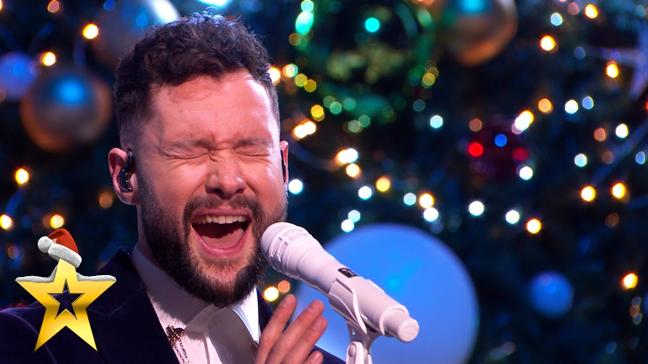 Download SUPERSTAR Calum Scott performs 'You Are The Reason' with MerseyGirls   BGT: Xmas