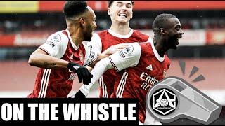 On the Whistle: Arsenal 21 Sheff Utd  'A big day for Saka & Pepe'