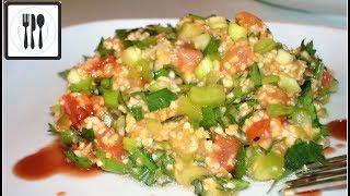 Салат с пшеничной крупой - Кысыр, или чем заменить булгур. Эксперимент