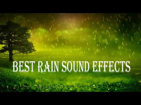 Best Relaxing Music With Rain Sound Effect for Study, Yoga, Meditation and Sleep | BK Entertainment
