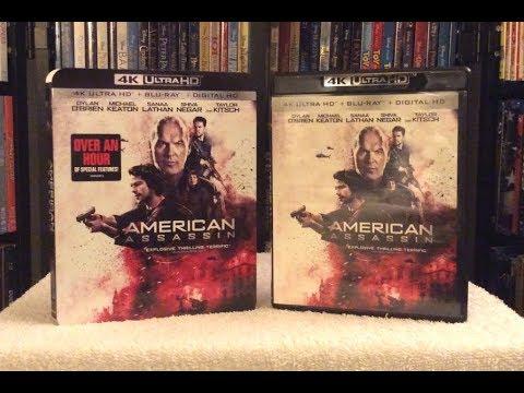 American Assassin 4K Ultra HD BLU RAY UNBOXING + Review - UHD - Michael Keaton