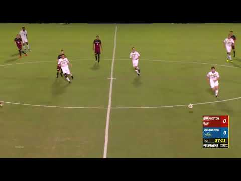College Of Charleston Vs University Of Delaware Men's Soccer 1st Half