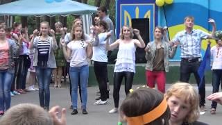 """Детский лагерный танец """"Макароны""""/Звездный-2015"""