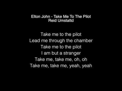 Reid Umstattd - Take Me To The Pilot Lyrics (Elton John) The Voice