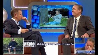 Jeremy Kyle stages a 'celebrity intervention' for troubled ex-England footballer Kenny Sansom as he