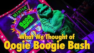 Oogie Boogie Bash Disneyland Halloween Party Review | Disney California Adventure