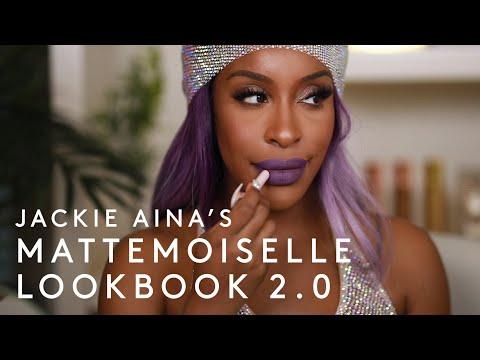 JACKIE AINA'S *NEW* MATTEMOISELLE LOOKBOOK 2.0 | FENTY BEAUTY