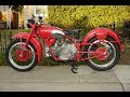 Moto Guzzi Falcone Sport exhaust sound and fly by compilation