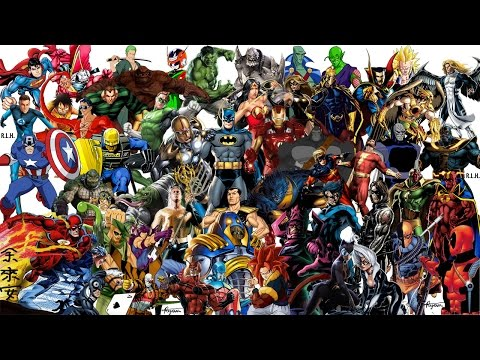 Top 88 Matchups Most Powerful & Strongest of the Marvel vs DC comics vs Dragon Ball GT (anime)