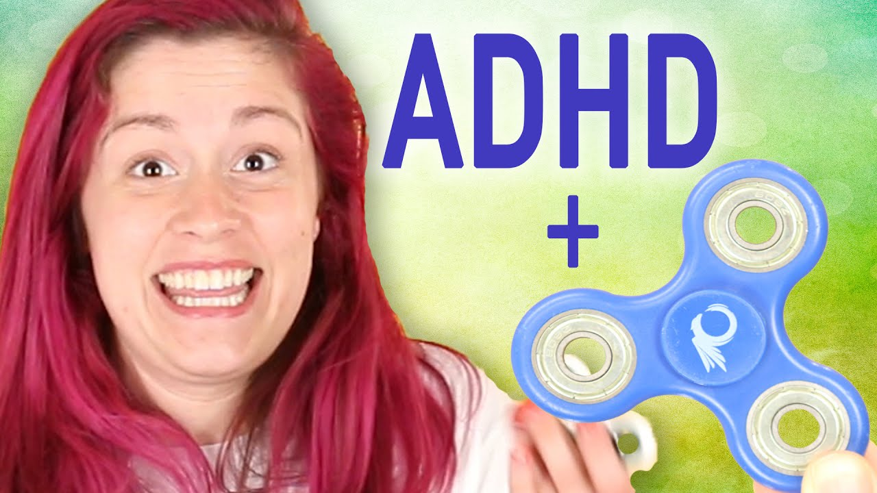 Toy For Adhd People : People with adhd try fidget spinners for a week doovi