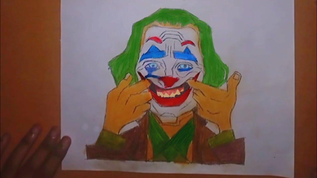 Joker 2019 Hand Drawing Joker By Joaquin Phoenix
