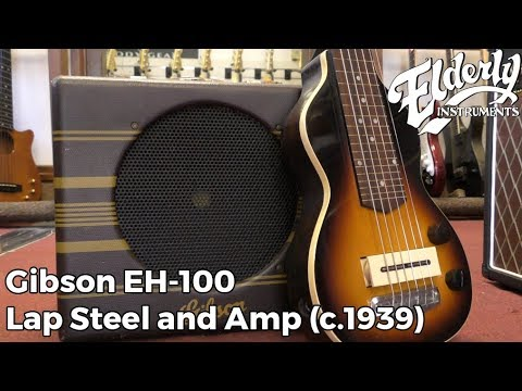 Gibson EH-100 Lap Steel and Amp (c.1939) | Elderly Instruments