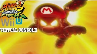 Mario Strikers Charged Football - Wii U Virtual Console Gameplay