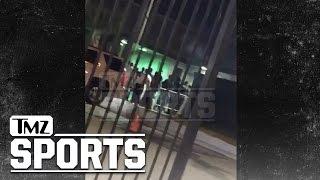 NFL's Aqib Talib- Video From Dallas Gunfight, At Least 4 Shots Fired | TMZ Sports