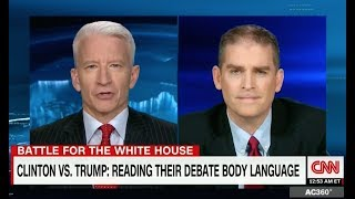 Dr. Jack Brown - CNN - Body Language/Emotional Intelligence Expert - Presidential Debates 2016