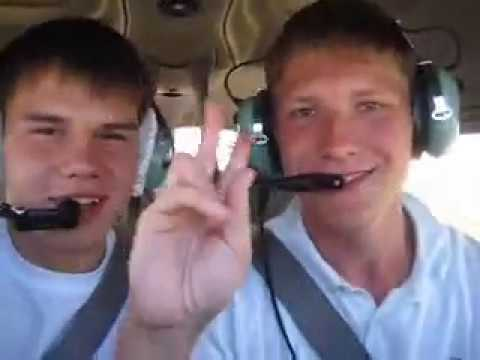 Вид из кабины. Первый полет. Как стать пилотом.