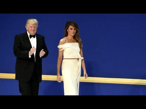 Melania Trump donates inauguration gown to Smithsonian