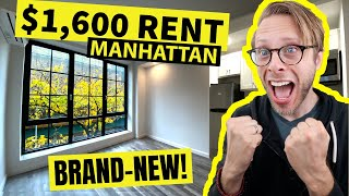 What $1,600 Rent gets YOU in Hell's Kitchen | NYC Apartment Tour