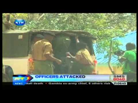 News: Ploce officers attacked in Mombasa