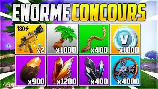 Fortnite Contest: We're Winning Weapons and Resources on Fortnite Save the World!