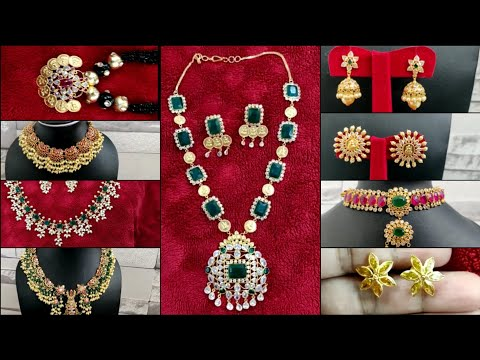 Light Weight Gold Jewellery Collection In Hyderabad | 14 Carat Gold Jewellery With Price
