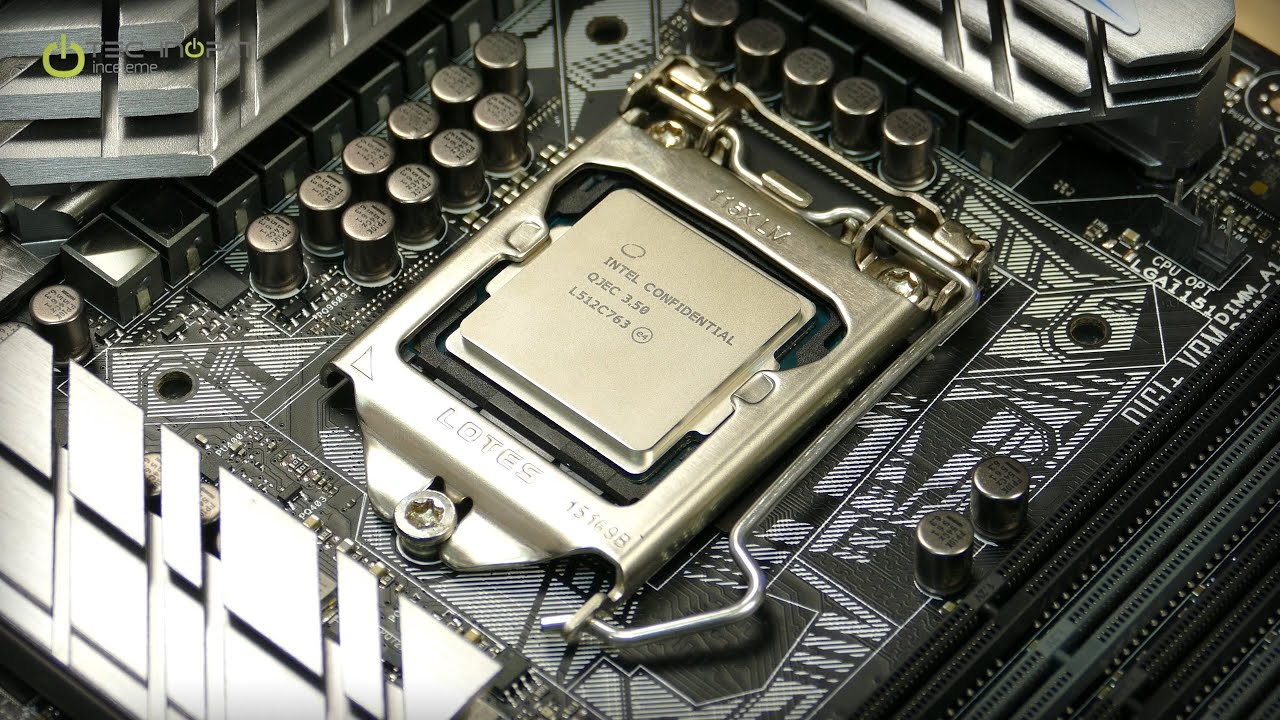 Intel Skylake Core I5 6600k İncelemesi Youtube