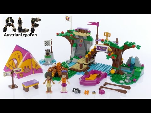Lego Friends 41121 Adventure Camp Rafting - Lego Speed Build Review