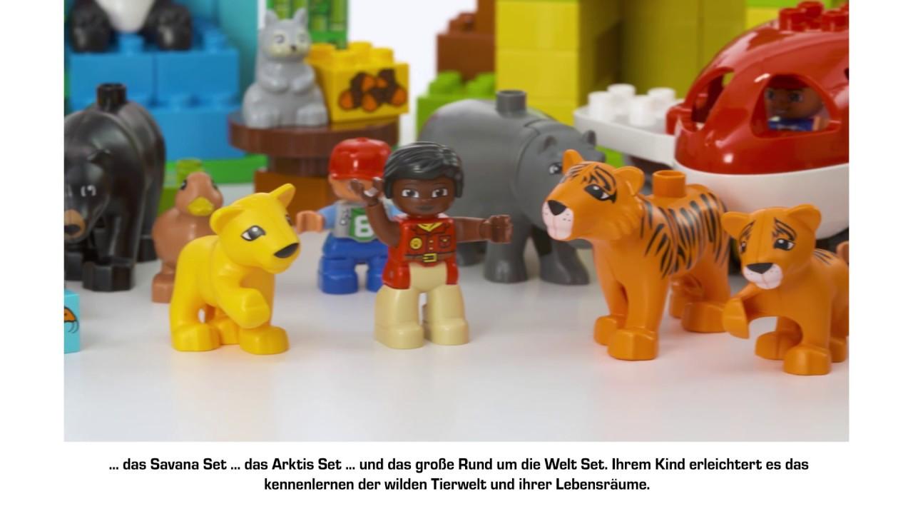 Lego Duplo Jungle Set Youtube