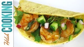 Shrimp Tacos - How To Make Shrimp Tacos