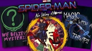 Spider-Man No Way Home (2021) Promo Art Reveals NEW Secrets