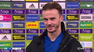 James Maddison oozes class! Leicester star on celebrations, Arshavin-style goal and England hopes