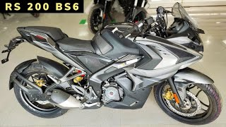 BAJAJ PULSAR RS200 BS6 New 2020 Model // PRICE // Review, Specifications, Features//