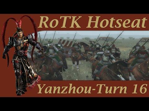Rise of Three Kingdoms Hotseat - Yanzhou Turn 16