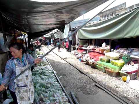 Бангкок. Прибытие поезда.