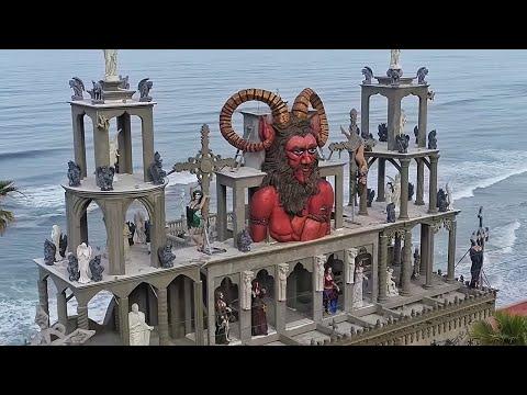 Entré a un castillo de VAMPIROS de la VIDA REAL 🧛🏽♂ | Castillo del Diablo 🏰
