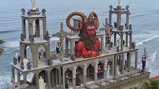 Entré a un castillo de VAMPIROS REAL ♂ | Castillo del Diablo