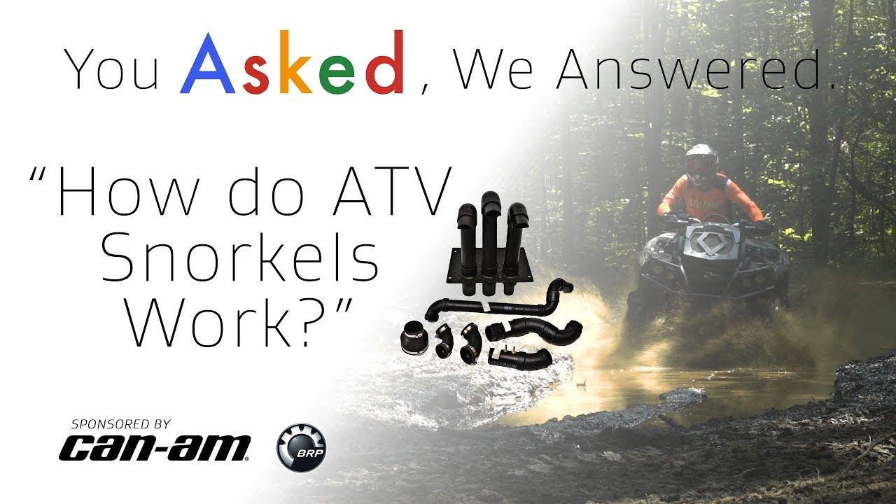How do ATV Snorkels Work? - Dauer: 2 Minuten, 17 Sekunden