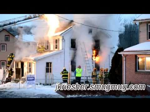 Lehigh Twp. Dwelling Fire - 2/13/2011