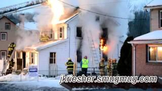 Lehigh Twp. Dwelling Fire - 2/13/2011